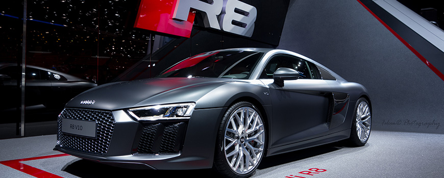 Audi R8 tuning ideas at the garage in london